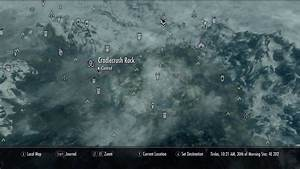 Cradlecrush Rock The Elder Scrolls V Skyrim Wiki Guide