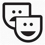 Icon Drama Library Humor Entertainment Masks Icons