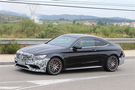 2018 Mercedesamg C63 Coupe Facelift Spied For The First