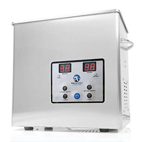 ultrasonic tub trusonik 2 5l digital ultrasonic cleaner with heater
