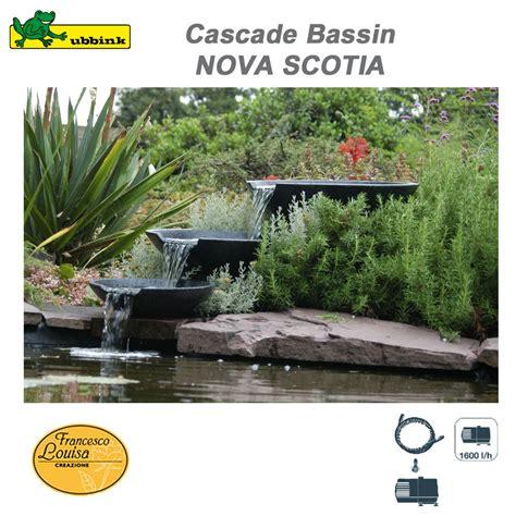 cascade pour bassin exterieur cascade de bassin ext 233 rieur de jardin scotia ubbink 1312100 ub