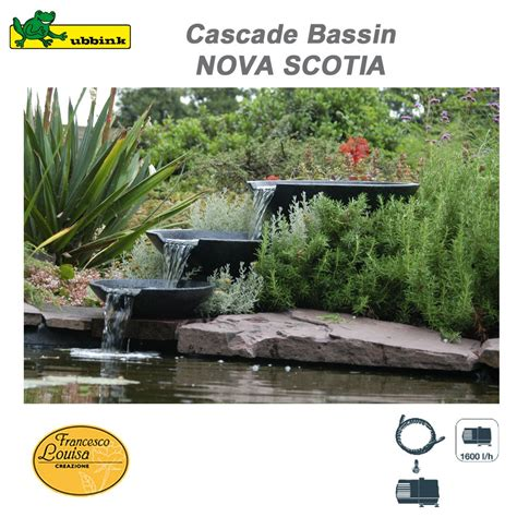 cascade de bassin ext 233 rieur de jardin scotia ubbink 1312100 ub
