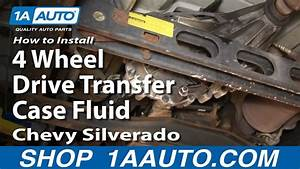 How Change Transfer Case Fluid 99