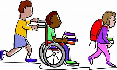 Kid Clipart Kindness Lonely Helping Friends Help