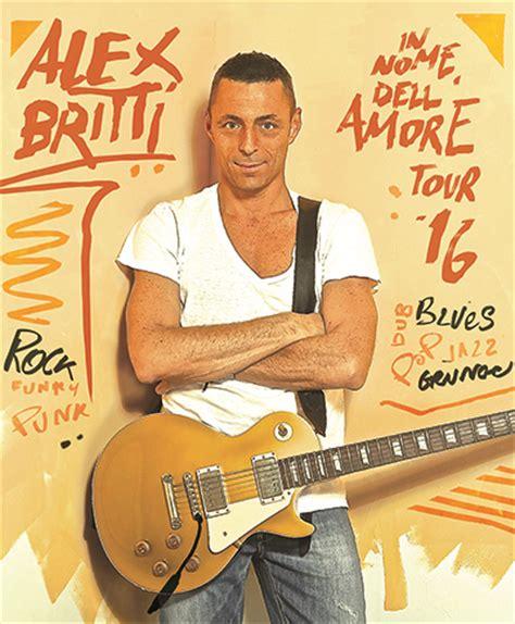Alex Britti Vasca by Alex Britti Torna Con Quot In Nome Dell Tour Quot 187 Fullsong It