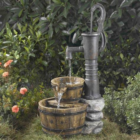 water water fresh garden decor