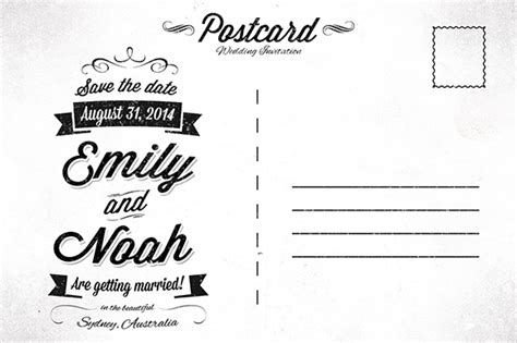 save the date postcard template save the date invitation postcard invitation templates on creative market