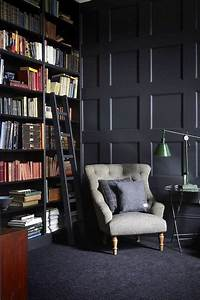 38, Amazing, Home, Library, Design, Ideas, With, Rustic, Style