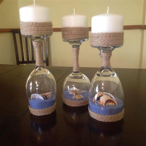 Candle Decorating With Glasses by Best 25 Decorated Candles Ideas On Decorating