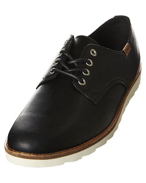 Vans Desert Point Leather Shoe Black Surfstitch