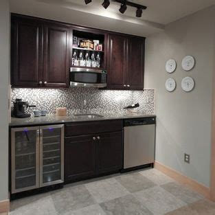 microwave  wine grid  kitchen bar design bars  home basement remodeling