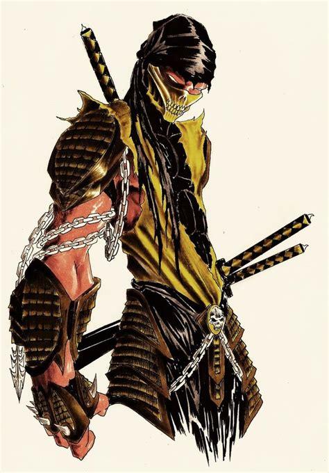 Imagem Do Scorpion Scorpion Mortal Kombat Rp Fan Art