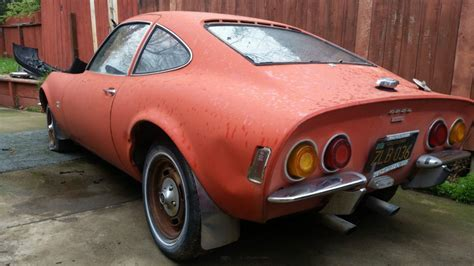 Opel Cars For Sale by 1968 Opel Gt Project For Sale
