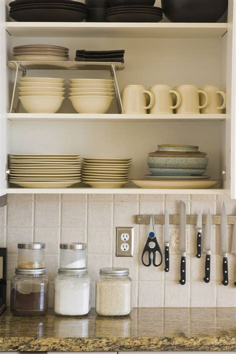 organize  kitchen cabinets
