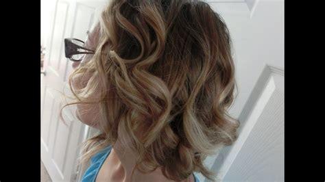 boucles sur cheveux courts tutoriel youtube