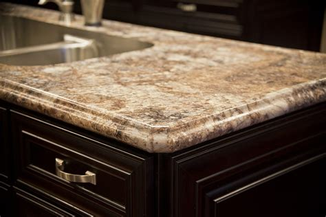 sculptured countertop edge for residential pros