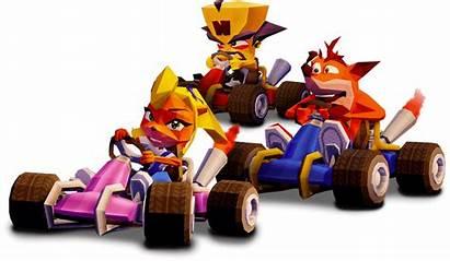 Crash Racing Team Ctr Nitro Fueled Race
