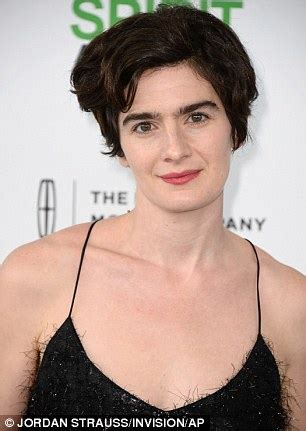 elaine glasses gaby hoffmann steps out in chic hairdo and toned figure