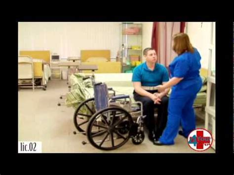 transfer from bed to wheelchair