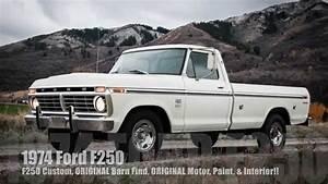 1974 Ford F250 - Original Barnfind