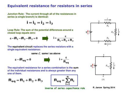 Ppt Kirchhoff Rules Multi Loop Circuit Examples