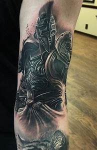 Spartan Warrior Tattoo - InkStyleMag