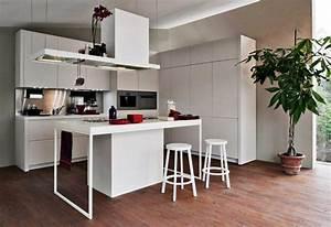 Petit Ilot Cuisine : ilot dans petite cuisine cuisine en image ~ Premium-room.com Idées de Décoration