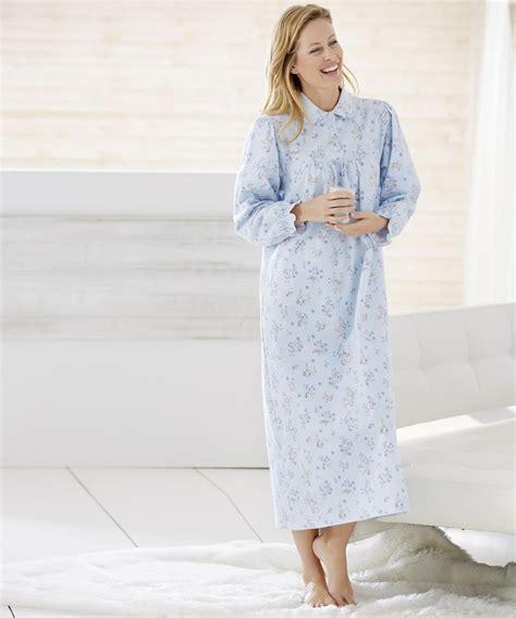robe de chambre chaude pour femme chemise de nuit longue coton femme prêt à porter féminin