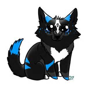 Cute Chibi Wolf