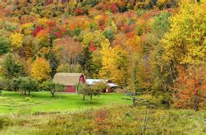 Maine Vermont New Hampshire Fall Foliage Drive