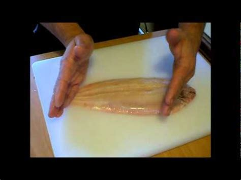 cuisiner filet de sole habiller préparer lever des filets de poisson et sole