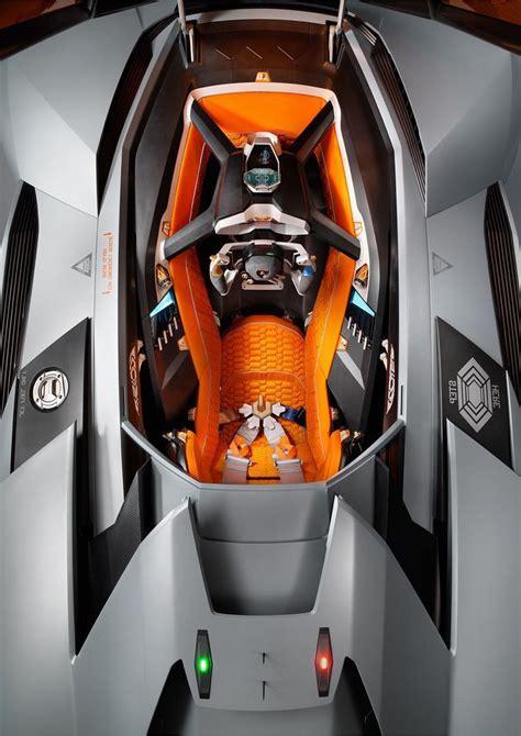 lamborghini egoista interior concept cars pinterest