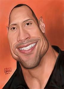 Caricatura de Dwayne Johnson (The Rock). | CARICATURES ...