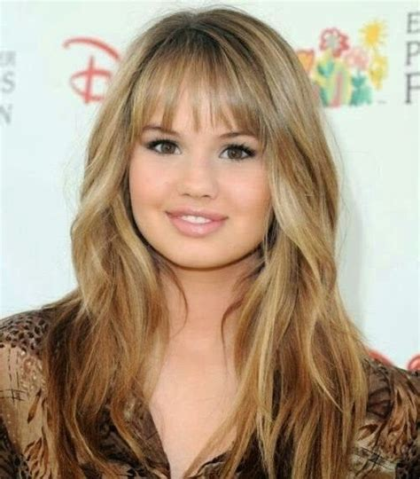 long hairstyles  bangs   face blonde wavy