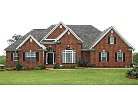 traditional brick ranch house plans ranch house design new brick ranch house plans - Ranch House Plans