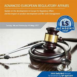 Advanced Regulatory Affairs course