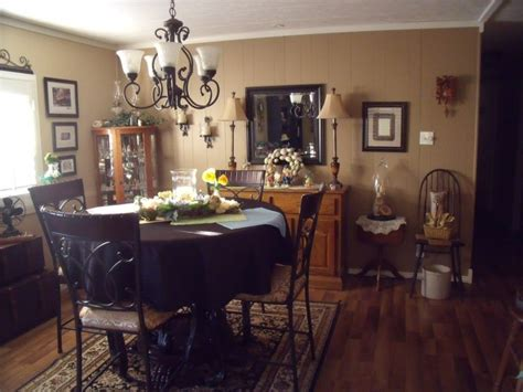 manufactured home decorating  merry double wide