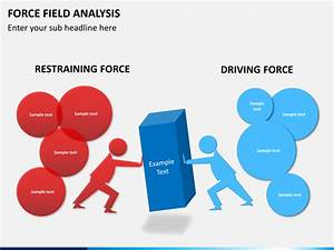 force field analysis powerpoint template sketchbubble With force field analysis diagram template