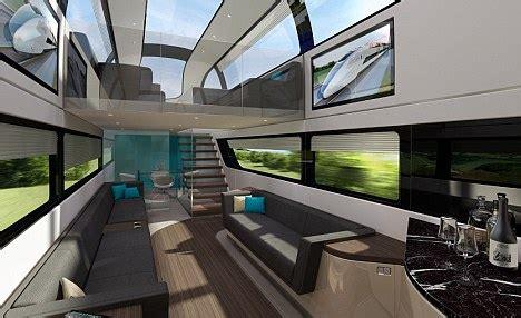 futuristic high speed train