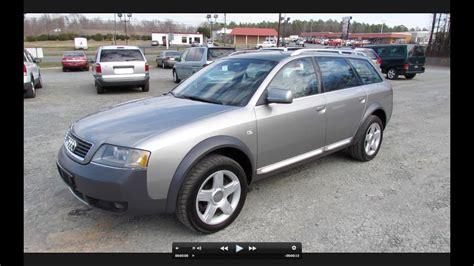 how cars engines work 2004 audi allroad navigation system 2003 audi allroad quattro biturbo start up exhaust and in depth review youtube