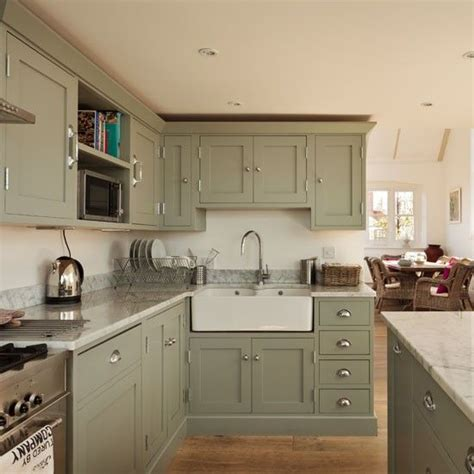 green colored kitchens renovated schoolhouse to family house cucina 1359