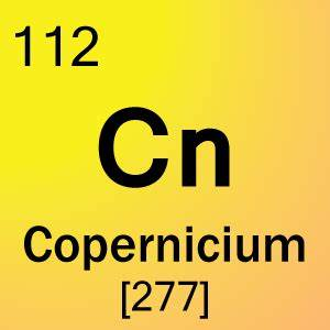 Element 112 - Copernicium - Science Notes and Projects