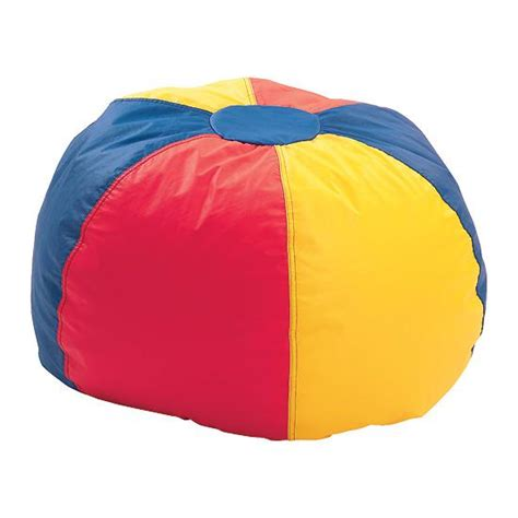 multicolored beanbag chair large flaghouse
