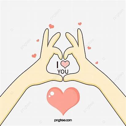 Gesture Valentine Cartoon Clipart Float Psd Creative