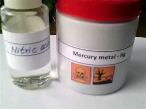 Harga Merkuri Nitrat how to make mercuric nitrate