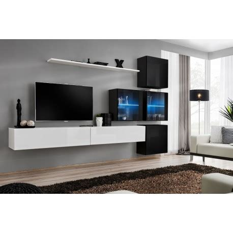 switch xii modular wall unit with led lights furniture