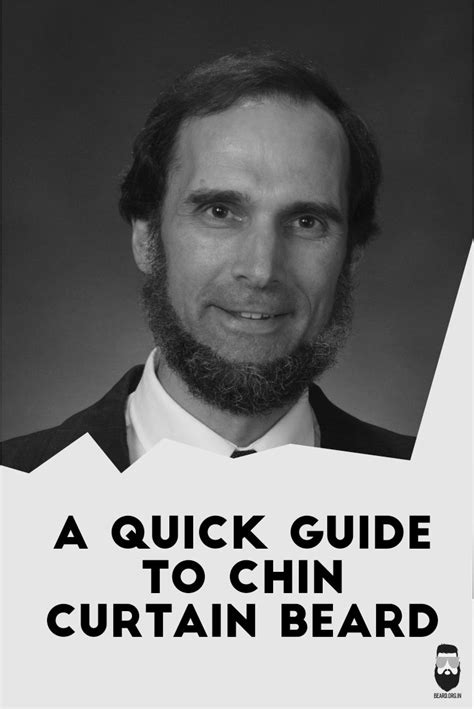 a quick guide to chin curtain beard style beard styles