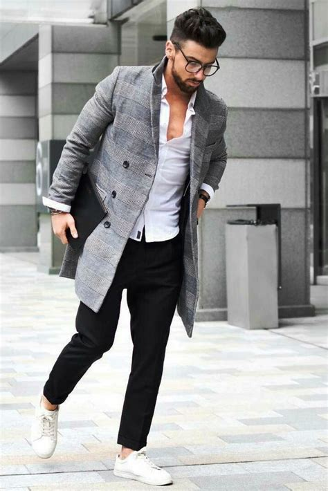 Awesome Overcoat Outfit Ideas For Men Try Instaloverz