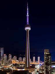 CN Tower Night View