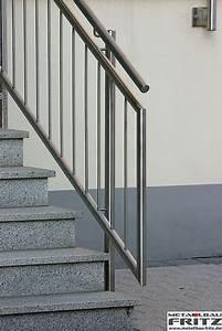Treppengeländer Außen Holz : edelstahl treppengel nder au en 08 07 metallbau fritz ~ Michelbontemps.com Haus und Dekorationen